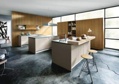 cuisine en bois design et moderne